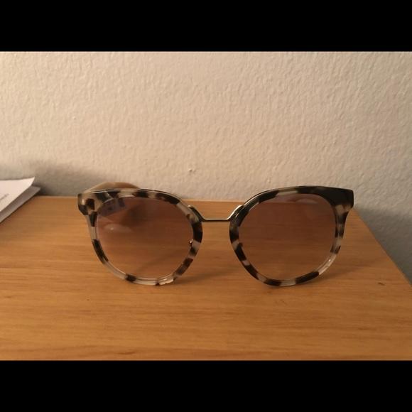 f40b96ca PRADA CINEMA FLOWER Opal Spotted Brown Sunglasses